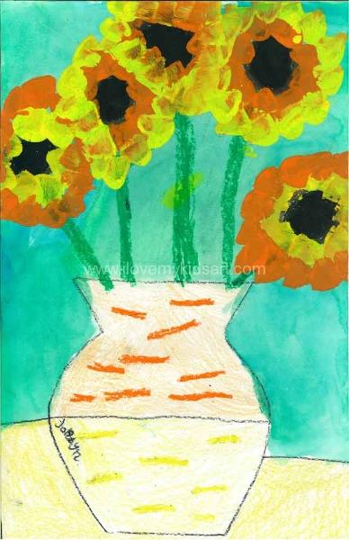 Jordin Sunflowers